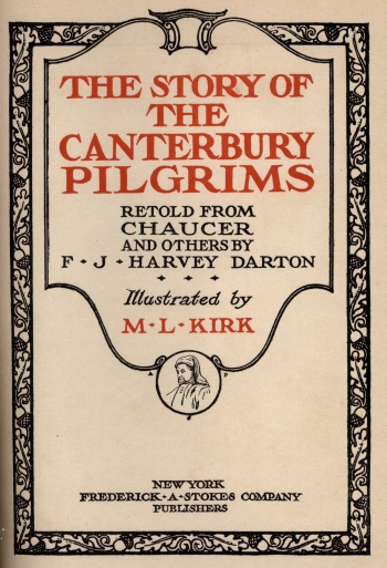 Story of the Canterbury Pilgrims, The