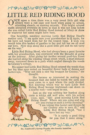 """Little Red Riding Hood."""