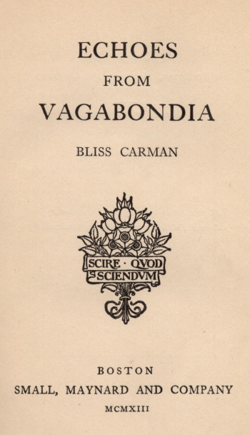 Echoes from Vagabondia
