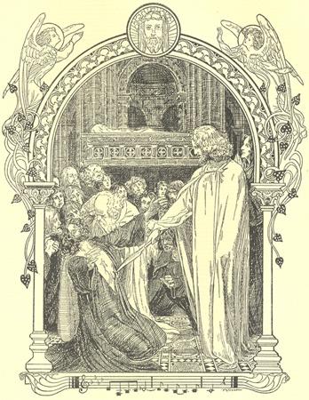 Parsifal Healing King Amfortas - Small