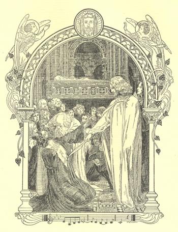 Parsifal Healing King Amfortas