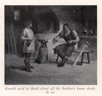 Gareth used to think about all his brother's brave deeds