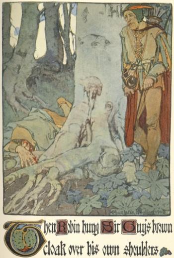 Robin Hood and Guy of Gisborne