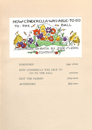 """Contents of How Cinderella Was Able To Go to The Ball."""
