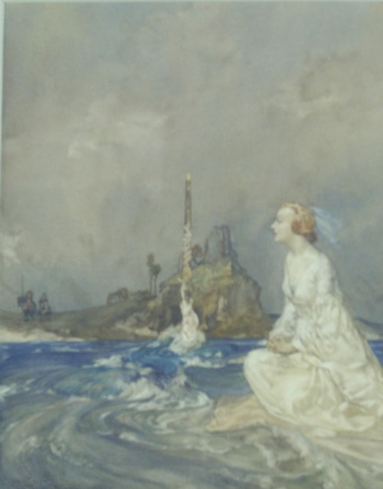 Malory Flint (from Malory's Morte d'Arthur by  Kara L. McShane)