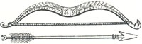 Saxon Bow and Arrow