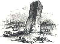 "Robin Hood's Penny-Stone, Tailpiece to ""Robin Hood and Little John"""