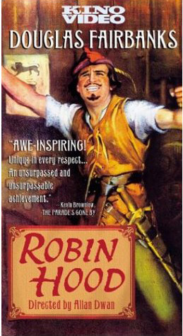 Fairbanks in 'Robin Hood' movie poster