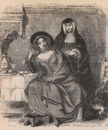 The Prioress and the Wife of Bath