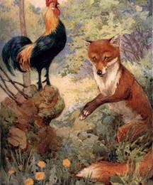Chaunticleer and the Fox