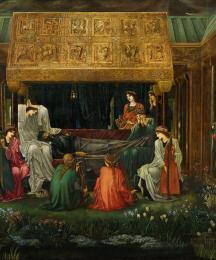 The Sleep of King Arthur in Avalon