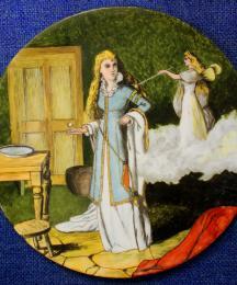 Cinderella Plate