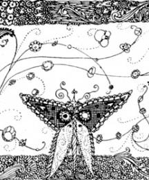 The image of metamorphosis placed at the end of the tale.