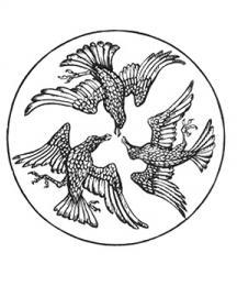 The three ravens of Faithful John.