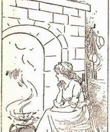Cinderella at the hearth
