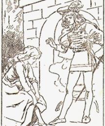 Cinderella Fitting the Slipper