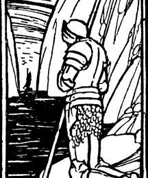 Morte D'Arthur - tailpiece