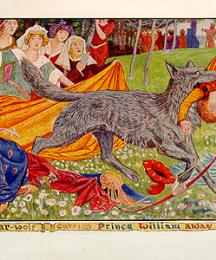The Wer-wolf carries Prince William away.