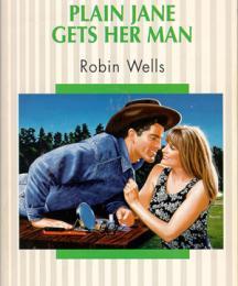 Plain Jane Gets Her Man (cover illustration)