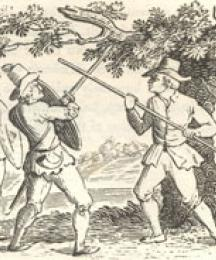The Jolly Pinder of Wakefield, With Robin Hood, Scarlet, and John