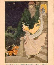 Cinderella in flight at midnight