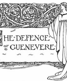 Headpiece to The Defence of Guinevere
