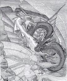 The Red Dragon and the White Dragon
