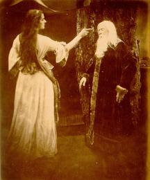 Vivien Enchants Merlin