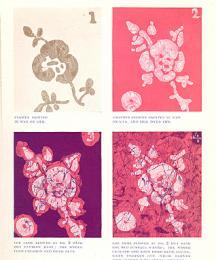 Progressive examples of Batik.
