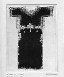 Dress in Batik.