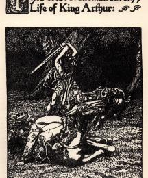The Forest Madman Saveth Ye Life of King Arthur