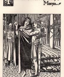 Tristram Succors the Lady Moeya