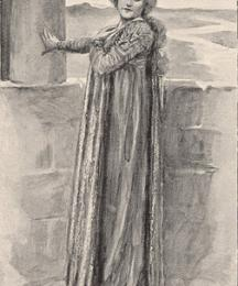 Ellen Terry in King Arthur