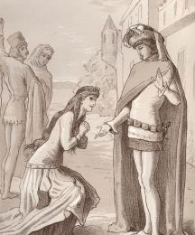 The Meeting of Dorigen and Aurelius
