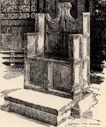 The Chair of St. Augustine, Canterbury Cathedral