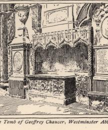 The Tomb of Geoffrey Chaucer, Westminster Abbey