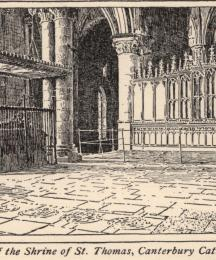 Site of the Shrine of St. Thomas, Canterbury Cathedral