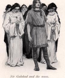 Sir Galahad and the nuns