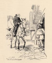 The arrival of John Lydgate.