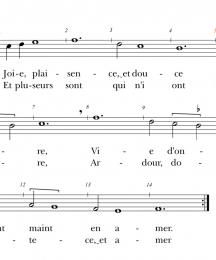Remede Chanson Roial, Page 1