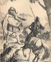 Sire Thopas and ye gret Geaunt Oliphaunt
