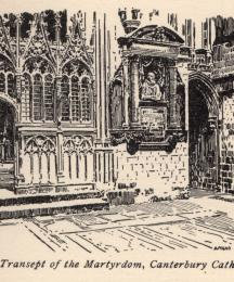 The Transept of the Martyrdom, Canterbury Cathedral