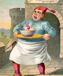 The King's Cook Surprised