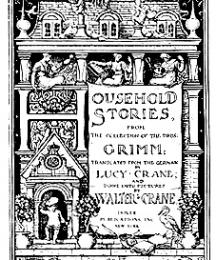 Title page of Household Stories.