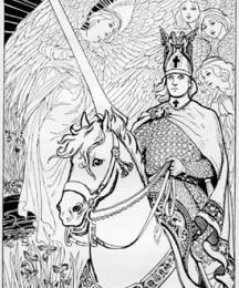 Galahad Rides out of Camelot