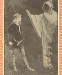 I am Ederyn, come to keep the King's tryst. (Frontispiece)