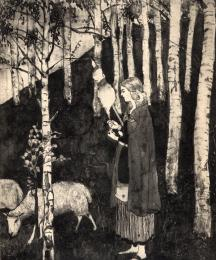 The Young Griselda (Frontispiece)