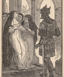 Sir Launcelot's Last Sight of Queen Guenever