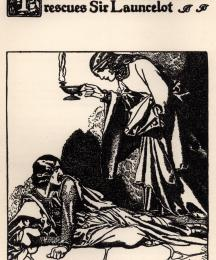 The Damsel Elouise the Fair Rescues Sir Launcelot