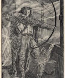 William continued his wonderful archery